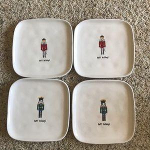 For Sale Rae Dunn Christmas plates